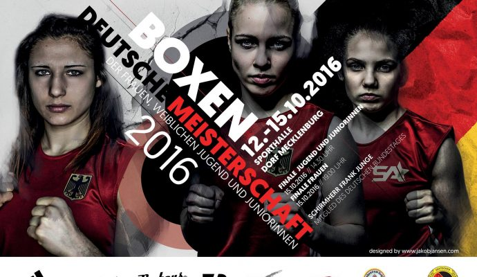 Fighterrella - Deutsche Meisterschaft olympisches Boxen 2016