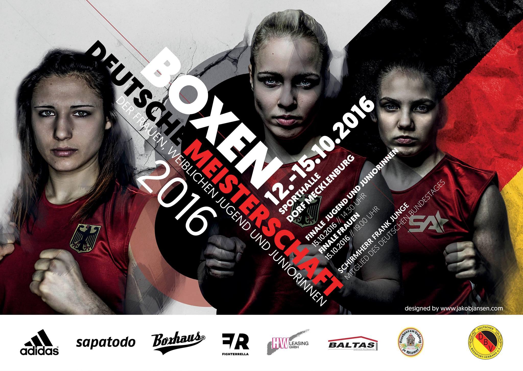 Fighterrella - Deutsche Meisterschaft olympisches Boxen 2016